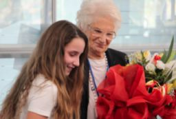 Liliana Segre, Holocaust witness and survivor speaks at ASM