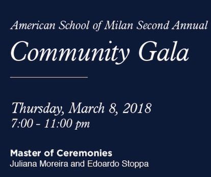 You're Invited: ASM 2nd Annual Community Gala